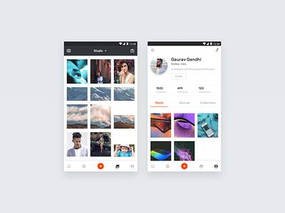 Photo Editor App (VSCO) ios android vsco photoeditor userinterface appdesign uidesign ui