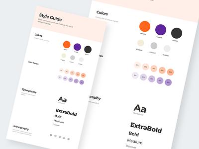 StyleGuide styleguide uxdesign webdesign appdesign uidesign ui