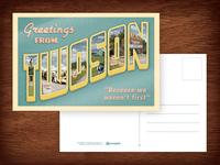 Twoson postcard