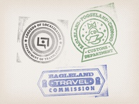 MOTHER 2 passport stamps