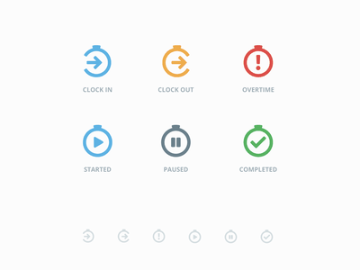 Time Management Icons outline icon clock in task management time management icon set icons