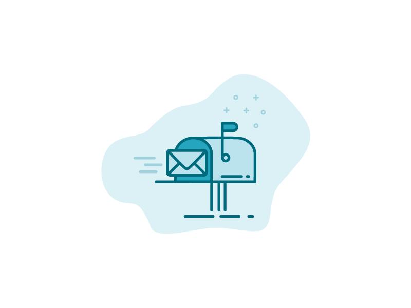 Mailbox Icon  post envelope mail mailbox icon
