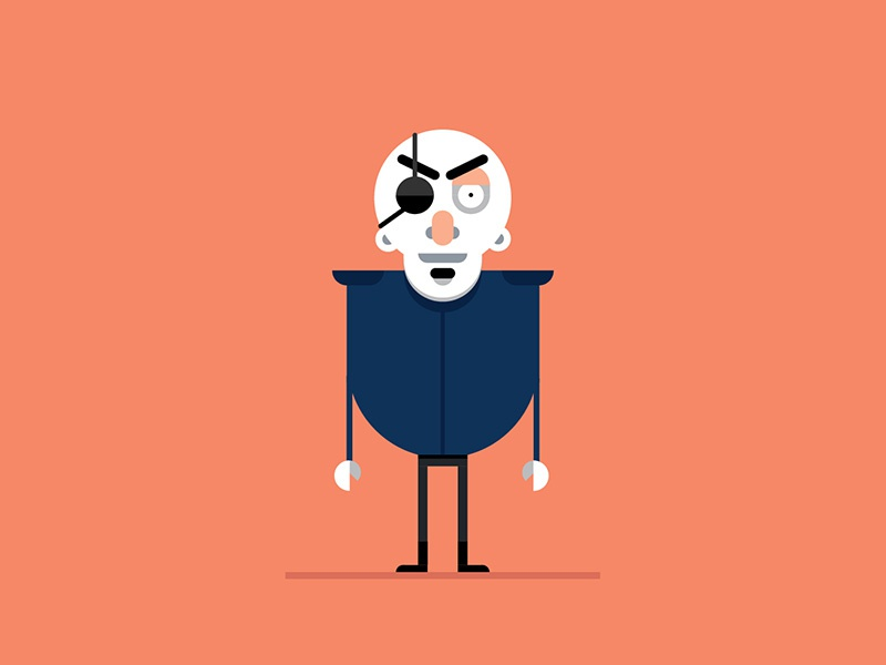 Character design: Badass characterdesign graphic design illustration