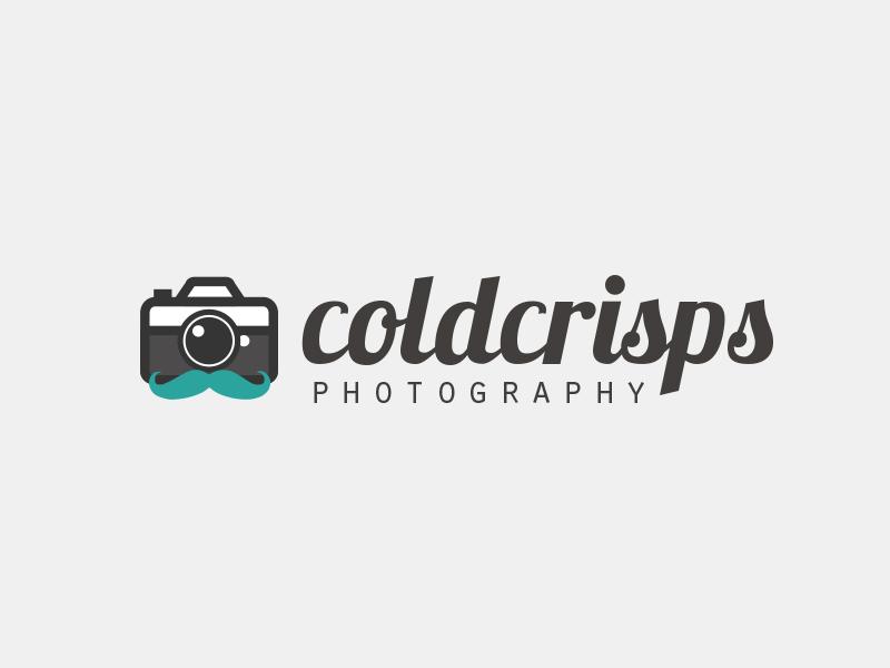 Coldcrisps Photography  mustashe vector photography camera branding design logo designbyeh coldcrisps
