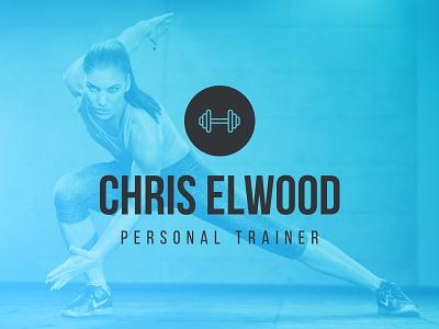Personal Trainer Logo Design identity design fitness brand personal trainer sport exercise logo branding