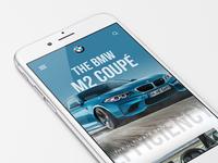 BMW Website Mobile