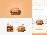 Burger™ Landing Page