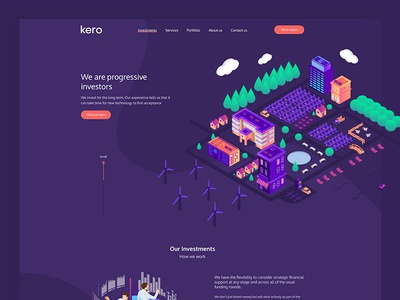 Kero Website Design