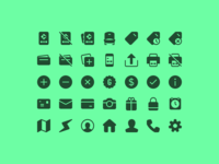 Gametime Icon Set — 24px