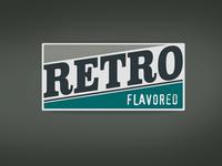 Retro Flavored Label