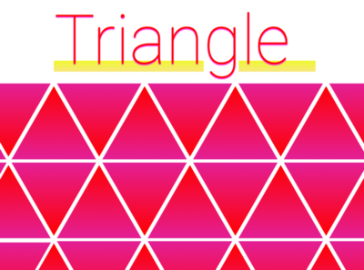 Abstraction Triangle illustration background artistic abstract