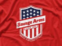 Savage Shield Tee