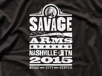 """Savage """"Nashville"""" Tee"""