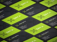 SIM-X Cards Isometric