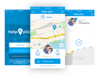 iOS Helppliz Screen