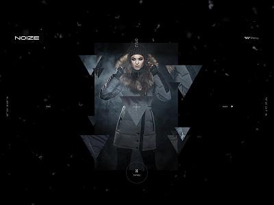 Noize Look Anastacia lookbook noize black triangle interaction