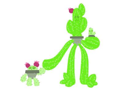 Huevember Day 27 (Cactus Golem)