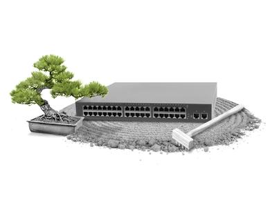 Zen router switch router collage zen garden