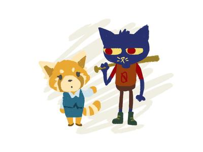 Retsuko and Mae