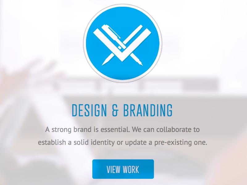 Design & Branding Icon icon design graphic blue circle bright light media washington dc