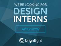 Design Internship Opp!