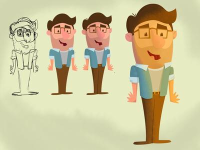 Cartooning Myself