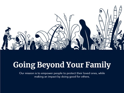 Give Back Banner leaf flower web design banner garden plants illustration