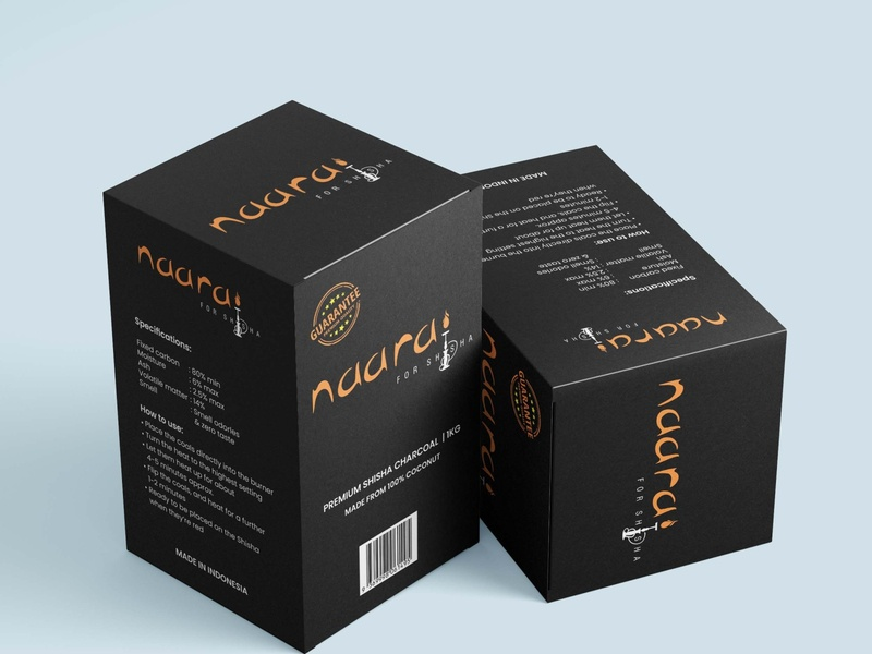 Naura for Sisha Packaging Box