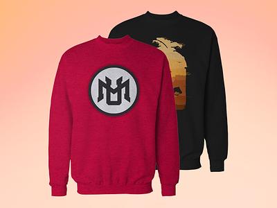 Crew Neck Sweatshirt Mockup [Free] crewneck crew neck sweatshirt mockup free psd photoshop