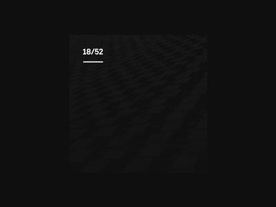Weekly Mixtape - 18 End weekly simple minimal typography design cover music mixtape clean