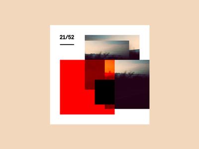Weekly Mixtape - 21 Kiss weekly simple minimal typography design cover music mixtape clean