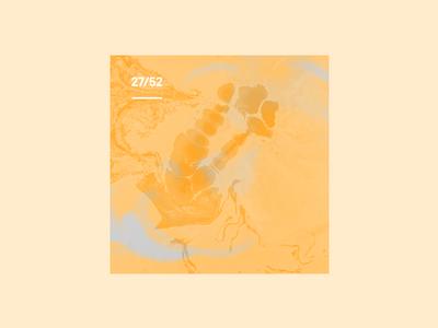 Weekly Mixtape - 27 Cool weekly simple minimal typography design cover music mixtape clean