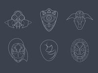 Majora's Masks - Round 1