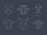 Majora's Masks - Round 5