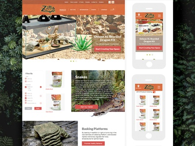 Style Tile - Reptile Products