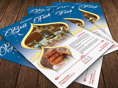 Best Food Flyer arab arabian food dome doner east food eat falafel flyer holiday kebab restaurant tea