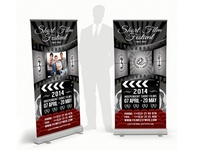 Film Fest Rollup Banner