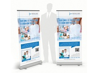 Dental Clinic Rollup Banner