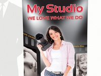 Photostudio rollup banner business style photo photo studio picture corporate editorial flexible modern multipurpose photographer portfolio