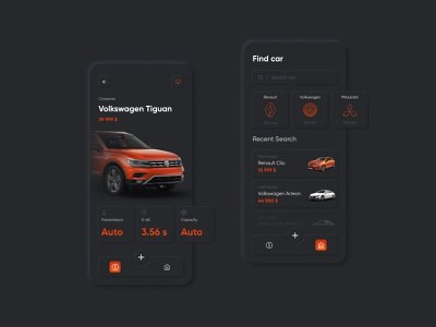 Mobile app design for buy-sell car logo branding business flat minimal lettering concept sell uiux mobile ui figma mobile app auto
