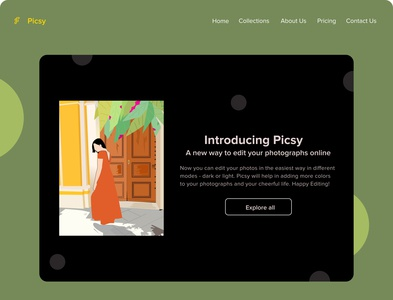 picsy design ui branding illustration