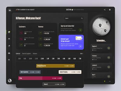 Delivery Dashboard 🚚 app design app website uiux interface design ux ui admin panel admin dashboard design dashboard ui dashboad