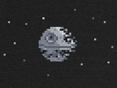 Death Pixel cotton bureau death pixel wars star shirt