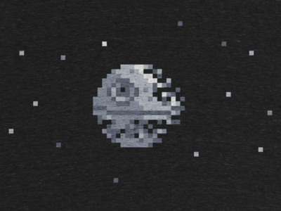 Death Pixel cotton bureau death pixel wars star shirt