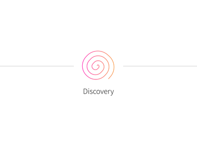 Product Design Process #2 spiral discovery icon process design product
