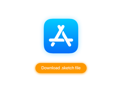 App Store Icon download sketch ios icon store app