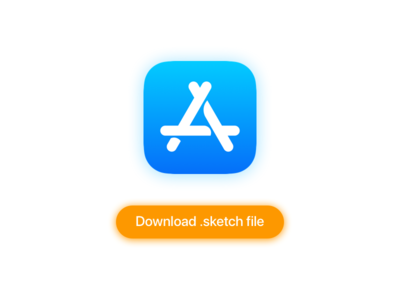 App Store Icon download sketch ios icon store app