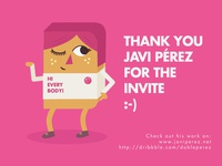 Thank you for Invite