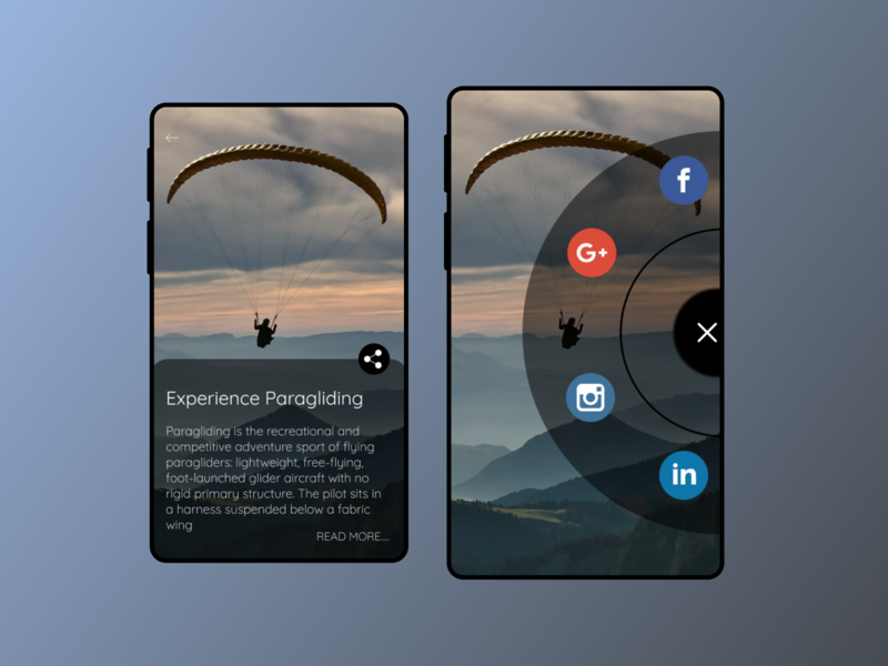 Share Page Daily UI 010