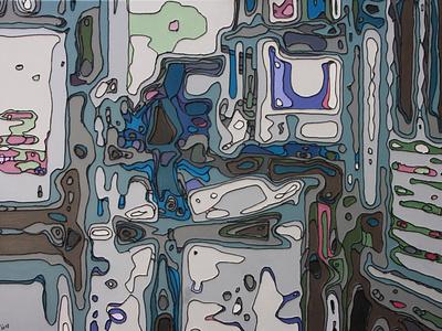 2012 evenwicht blijft moeilijk illustration charles gilbert portrait
